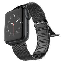 Браслет Raptic Classic Plus для Apple Watch 42/44мм Чёрный